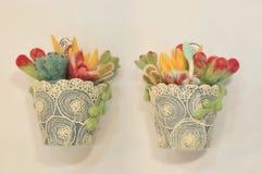 Bonsai dekoracja Obrazy Royalty Free