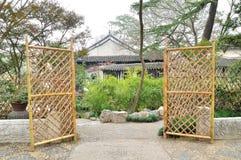 Bonsai Garden in Humble Administrator's Garden Royalty Free Stock Photos