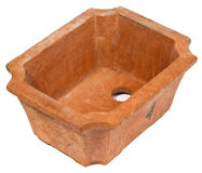 Bonsai pot Stock Image