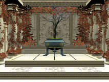 Bonsai room Royalty Free Stock Photos