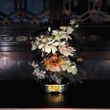 Bonsai som göras av jade i slottmuseet royaltyfria bilder