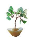 Bonsai tree. Model of bonsai tree made of ornamental stone Royalty Free Stock Image