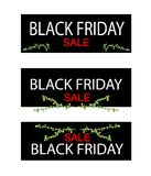 Bonsai Tree on Black Friday Sale Banner Royalty Free Stock Photo