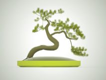 Bonsai tree rendered Stock Photos