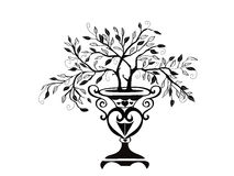 bonsaidesigntree Arkivbild