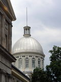 Bonsecours Market dome, old Montreal, Canada Royalty Free Stock Photos