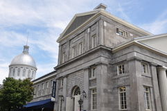 Bonsecours Market in Montreal Stock Image