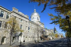 Bonsecours Market, Old Montreal, Quebec, Canada Royalty Free Stock Image