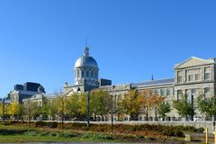 Bonsecours Market, Old Montreal, Quebec, Canada Stock Photos
