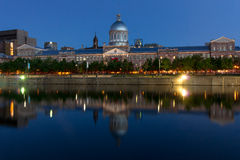Bonsecours Market Place Royalty Free Stock Images