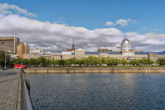 Bonsecours Market and Pond Stock Images
