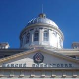 Bonsecours marknad arkivbild