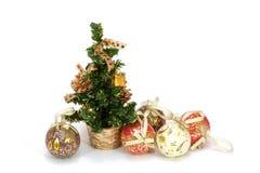Bont-boom Kerstmis Royalty-vrije Stock Afbeelding