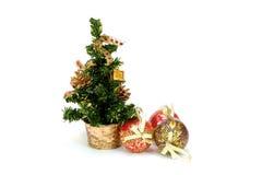 Bont-boom Kerstmis Stock Fotografie