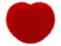 Bont rood hart Royalty-vrije Stock Fotografie