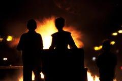 bonu ogień Fotografia Stock