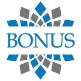 Bonus Blue Grey Circular Background Royalty Free Stock Photos