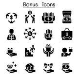 Bonus & Business Investment icon set Stock Photo