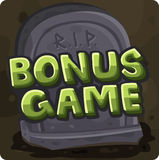 Bonus game symbol for slots game Royalty Free Stock Photography