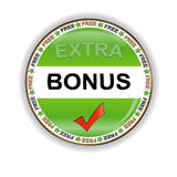 Bonus icon Stock Photo