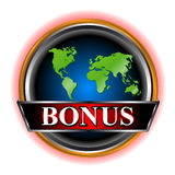 Bonus icon Royalty Free Stock Photo