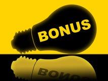 Bonus Lightbulb Shows For Free And Award Stock Photography