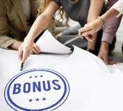 Bonus Prize Profit Incentive Additional Compensation Concept. Bonus Prize Profit Incentive Additional Compensation royalty free stock photos