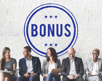 Bonus Prize Profit Incentive Additional Compensation Concept. Bonus Prize Profit Incentive Additional Compensation stock images