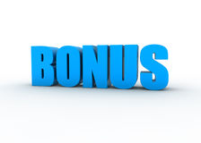 Bonus sign Royalty Free Stock Photography