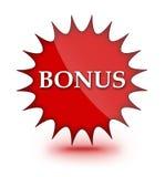 Bonus sign. Computer generated web sign of Bonus stock illustration