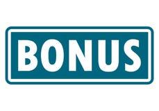 Bonus sign, icon, stamp Royalty Free Stock Photo