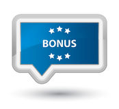 Bonus stars icon prime blue banner button Stock Photos