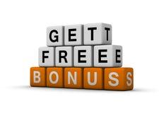 Bonus symbol Royalty Free Stock Image