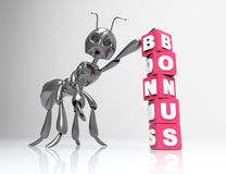Bonus symbol concept Royalty Free Stock Photo