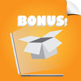 Bonus vector Stock Photo