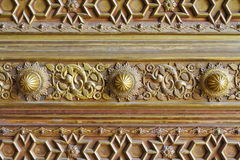 Bonze Decorated Door Of City Palace Stock Images