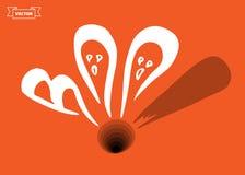 boo Élément de conception pour Halloween illustration stock