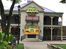 Boo Blasters em Carowinds, Charlotte, NC fotos de stock royalty free