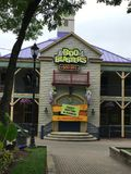 Boo Blasters em Carowinds, Charlotte, NC imagem de stock royalty free