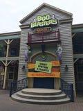 Boo Blasters em Carowinds, Charlotte, NC foto de stock