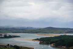 Boo de Pielagos, Asturia y Cantábria, Espanha imagens de stock
