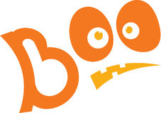 Boo Eyes Royalty Free Stock Images
