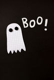 Boo halloween ghost Royalty Free Stock Images