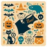 Boo_pattern2 Royaltyfri Fotografi