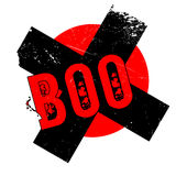 Boo rubber stamp Stock Image