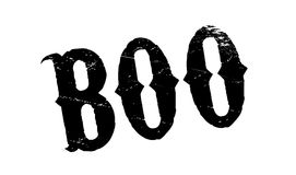 Boo rubber stamp Stock Photography
