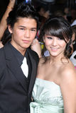 BooBoo Stewart. & Sister arriving at the New Moon Premiere Mann's Westwood Village Theater Westwood,  CA November 16, 2009 Stock Image