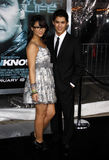Booboo Stewart and Fivel Stewart Stock Photo