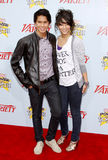 Booboo Stewart and Fivel Stewart Royalty Free Stock Image