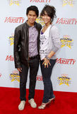 Booboo Stewart and Fivel Stewart. At the Variety's 3rd Annual Power Of Youth held at the Paramount Studios Lot in Hollywood on December 5, 2009 Royalty Free Stock Image